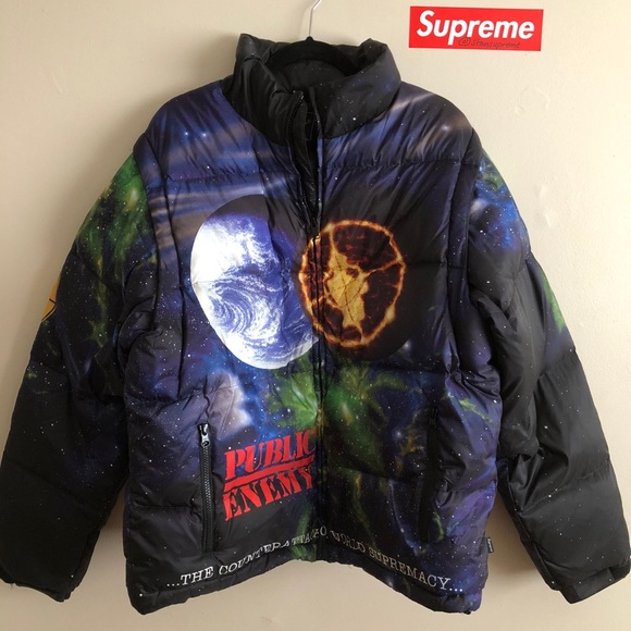 Supreme Public Enemy Undercover Puffy Jacket